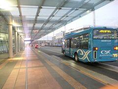 5:20 羽田空港第二ターミナルに到着。