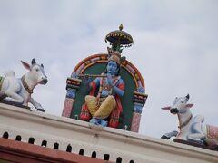 エンディングの映像内に出て来たところ。 チャイナタウンにある、ヒンドゥー教の寺院。