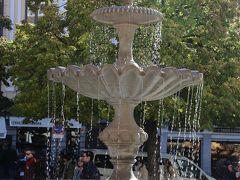 広場に泉があると、気持ちいいですよね。