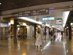 ホテルチェックアウト、台北駅の地下街を通り抜けてMRT空港線へ。ラウンジがあるので、当然?朝飯は抜きです。
