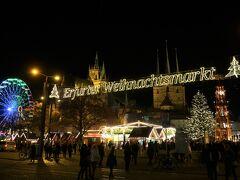 ■Erfurter Weihnachtsmarkt  ドーム広場(大聖堂前)のクリスマスマーケット。  <開催期間> 2019/11/26 - 12/22  <開催時間> 日曜日 - 水曜日:10時 - 20時 木曜日:10時 - 21時 金曜日 - 土曜日:10時 - 22時