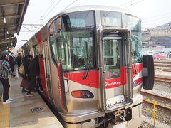 広で呉線(普通)三原行きに乗り換え、すぐ発車です。