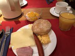 今日もミュンヘン市内を観光します。 その前にまずは朝食をしっかり食べます!