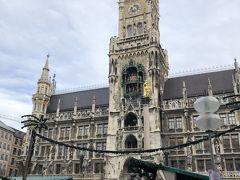 ドイツ最大の仕掛け時計、グロッケンシュピールを見てから次の目的地へ移動です。