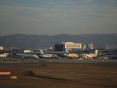 あっという間に伊丹空港に到着。