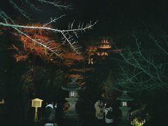 お決まりの石山寺多宝塔と硅灰石。