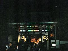 バスを降りて石山寺へとやって来ました。