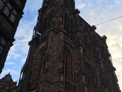 ストラスブール ノートルダム大聖堂/尖塔/カラクリ時計