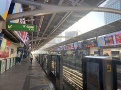 プロンポン駅から一本で行けるようだ。