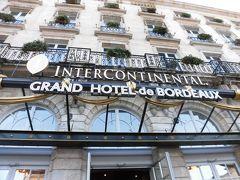 ボルドーに着きました。    「大劇場」の向かいにある 「インターコンチネンタル・ボルドー・ル・グラン」に泊まります。