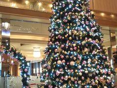 二階まで届くほどの 大きなクリスマスツリー(^〇^)