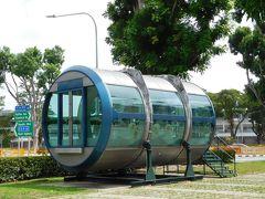 荷物を預けた後は、ツーリストパスを使ってプロムナード駅へ。目指すはシンガポールフライヤー。前回泊まったマリーナベイサンズを横から眺めようと思って。