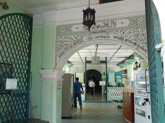 ジャマエ モスクにも寄ってみる。こちらはもっと人がいない。