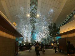12/1 22:00発QF26シドニー行きチェックインまで4Fの 日本の味 すぎのこ で焼き鳥・ビール・そばを食べました。
