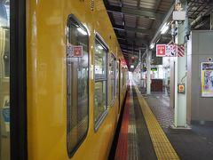松江で運転士交代、時間調整。