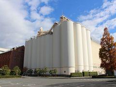 往きは阪急吹田駅から徒歩10分(強)で、目的のビール工場に着きました。