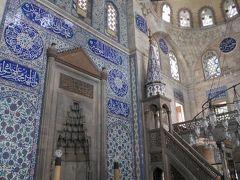 2日目は、スルタンアフメット地区(ブルーモスクやアヤソフィアがあるエリア)で、まだ行ったことのない場所を中心に巡ることに。  1か所目は、ソクルル・メフメットパシャ・ジャーミィ。 16世紀に、オスマン朝時代を代表する建築家ミマール・スィナンが建設したモスク。正面の壁一面を飾るイズニック産タイルがとても綺麗でした。