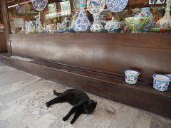 3カ所目は、お土産が売っているアラスタ・バザールを通って、大宮殿モザイク博物館へ。