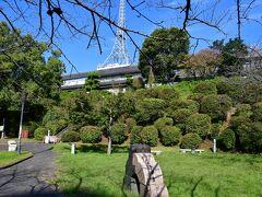 千葉城跡。 NHK熊本局があったが、熊本局の移転に伴い、敷地全体が閉鎖され、近付けなくなっていた。
