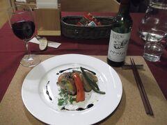 くるみの夕食 コース料理のメインディッシュ