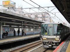 阪和線で百舌鳥駅に向かいます