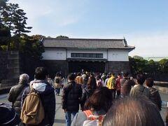 江戸城坂下門 普段は閉鎖されている