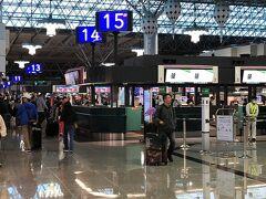 30分ほどで桃園空港に到着。