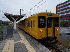 駅へ戻り、9:48発の列車に乗り、新市駅と向かう。 その途中で、ふと、ひとつ手前の上戸手駅との間に古い街並みがあったことを思い出し、急遽、上戸手駅で降りることにした。 降り立った上戸手駅は、駅舎も無い小さな無人駅だった。