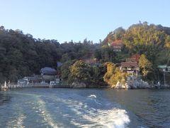 神の島 竹生島に上陸