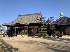 観龍寺本堂。普通のお寺です。