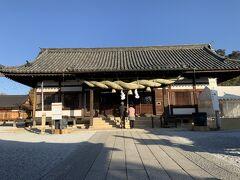 阿智神社の本殿に到着。しかし、今日は晴天だなあ。昨日とは大違いだ。