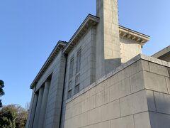 旧倉敷銀行本店。大正11年の建築。現在は中国銀行が管理しています。 これも、登録有形文化財に指定されている歴史的建造物です。