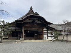 醍醐寺三宝院の入口。醍醐寺といえば、関白秀吉公の花見の場所です。事実、醍醐の花見を契機に整備されました。