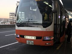 12月28日 AM7時、羽田空港第2到着 案の定、リムジンバスは満席。早めに予約しといて正解