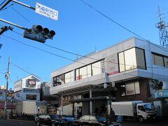 大森駅の西口。特に商店街もなく乗換え路線もないコンパクトな駅です。