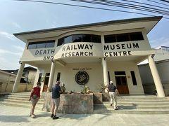 共同墓地横に、死の鉄道博物館があったので入ってみる事に。入館料は150B。 ここも、欧米人比率が高かった。日本人は私一人な感じ。