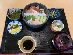 角島「夢岬」でランチ。海鮮丼
