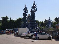 ワット ロンスアテン (青碧寺院)到着。 市内から歩いて1時間くらいです。車なら15分くらい