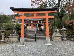 宇治神社の境内までやってきました。