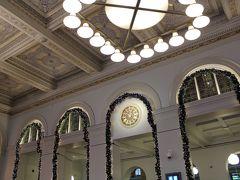 美しいストックホルム中央駅。