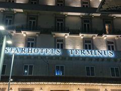 ナポリ駅到着は10時過ぎ。ローマから1時間ちょっとで到着でした。 ホテルは駅のすぐ横のスターホテルテルミナス。