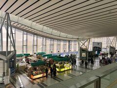 仙台空港に到着。