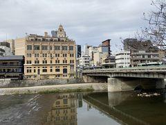 四条大橋 京阪の祇園四条駅入口付近