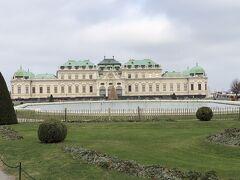 ベルヴェデーレ宮殿。