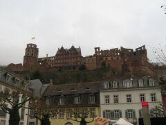 ハイデンベルグ城  このお城から見る景色を眺めてみたかったなあ…