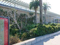 パレス・オブ・ファイン・アーツはゴールデンゲートパークの近くなので、もう少し足を伸ばして、ゴールデンゲートパークの中のカリフォルニア科学アカデミーへやって来ました。CITY PASSで入れる施設です。