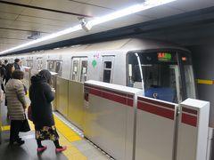 大江戸線の旅は大門駅からスタートです。