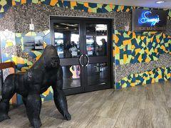 10日間滞在したマウイ島ラハイナを後にし  9時過ぎにカフルイ空港に到着  セキュリティ・チェックを抜けてから  Sammy'sで朝食