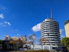 12月28日(土)・・・つづき。  お!ここからのキャピトルレコードの眺め、いいなぁ! それにしても、あ~あ・・・Hollywoodサイントレイル、残念だったな。 まだお昼にもなってないしな。 これからどこ行こうかな。