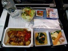 17:30(日本時間10:30+1) 機内食